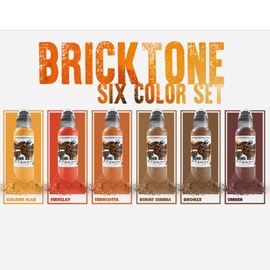 World Famous Ink Maks Kornev Bricktone Set 1oz