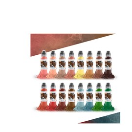 World Famous Ink Oleg Shepelenko Realism Color Set